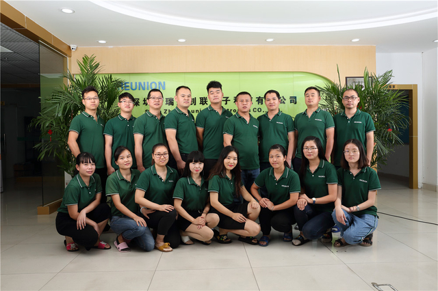 Sales Team of Shenzhen Reunion Electronics Co., Ltd.